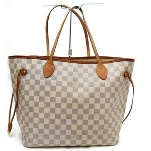 Louis Vuitton 872137 Damier Azur Neverfull MM